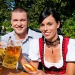 Vorsicht Biergarten