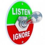 Lernen Sie ignorieren
