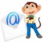 Wie kommt der Affe ins Postfach?