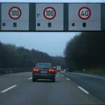 100% Geschwindigkeitskontrolle auf der Autobahn