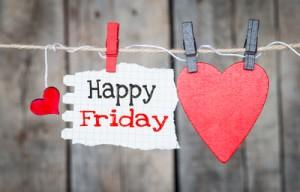 Glücklich Freitag